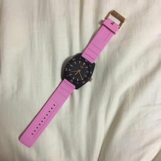 アディダス(adidas)のadidas 時計 ピンク(腕時計)