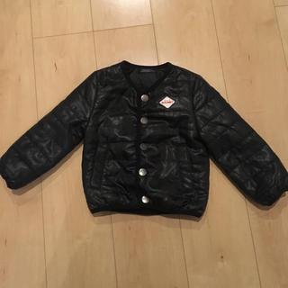 b73dcc080adce ニシマツヤ(西松屋)のブラック 中綿 ジャケット コート ダウンコート ジャンパー 西松屋 90 95(