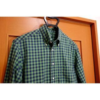 インディヴィジュアライズドシャツ(INDIVIDUALIZED SHIRTS)の【美品】ギットマン チェック柄ボタンダウンシャツ Gitman Bros(シャツ)