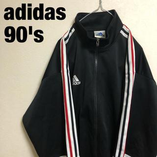 adidas - 古着 90's adidas アディダス トラックジャケット ジャージ