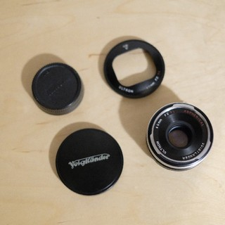 Nikon - フォクトレンダー 40mm