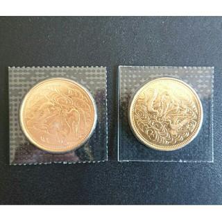 昭和61年 天皇陛下御在位60年記念 10万円金貨 2枚(貨幣)