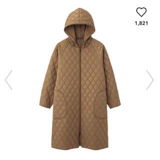 ジーユー(GU)のジーユー GU 中綿 ロング キルトコート 中綿コート ロングコート キルト(ロングコート)