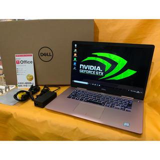 デル(DELL)のゲーミングノート Win10 DELL i7 8550U (8CPUs) SSD(ノートPC)