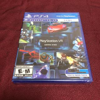 プレイステーションヴィーアール(PlayStation VR)のps4  プレイステーションVR デモディスク 未開封品(家庭用ゲームソフト)