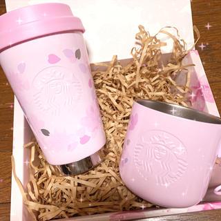 スターバックスコーヒー(Starbucks Coffee)のスターバックス さくら タンブラー ステンレスマグ(タンブラー)