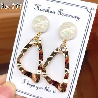 No.289 hacchan earrings