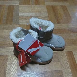 プーマ(PUMA)のPUMA☆ブーツ☆キッズ☆13cm☆コンテストスウェードブーツ☆送料込み(ブーツ)