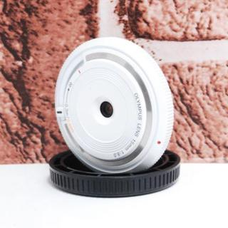 オリンパス(OLYMPUS)の★美品★可愛い★OLYMPUS 15mm 単焦点レンズ(レンズ(単焦点))