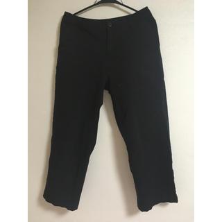 ムジルシリョウヒン(MUJI (無印良品))の黒 パンツ(カジュアルパンツ)