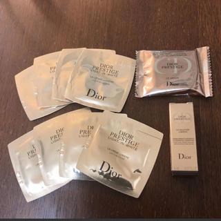ディオール(Dior)のディオール☆プレステージホワイト サンプルセット(サンプル/トライアルキット)