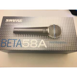 新品同様 SHURE BETA58 ダイナミックマイク