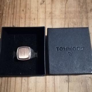 ロンハーマン(Ron Herman)のtomwood 9k×silver ゴールド リング トムウッド (リング(指輪))