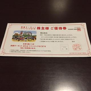 ホンダ(ホンダ)の鈴鹿サーキット ホンダ株主優待(遊園地/テーマパーク)