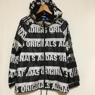 adidas - adidas originals 総柄 ウィンドブレーカー/ナイロンパーカー