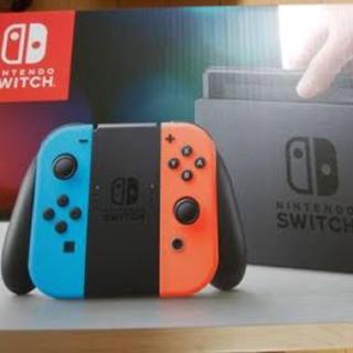 ニンテンドースイッチ(Nintendo Switch)の任天堂 スイッチ Switch 本体 (L)ネオンブルー/(R)ネオンレッド (家庭用ゲーム本体)