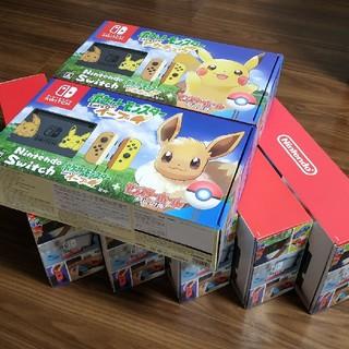 ニンテンドースイッチ(Nintendo Switch)の【ピカチュウ含む】Nintendo Switch 7台 236,000円(家庭用ゲーム本体)