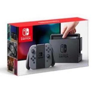 ニンテンドースイッチ(Nintendo Switch)の美品 中古 任天堂 スイッチ 黒 ブラック(家庭用ゲーム本体)