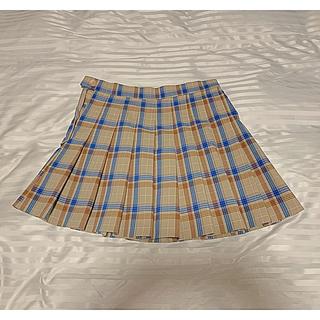 ミックスエックスミックス(mixxmix)のchuu チェック プリーツミニスカート テニススカート(ミニスカート)