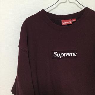 シュプリーム(Supreme)の【激レア】supreme 初期 box logo crewneck(スウェット)