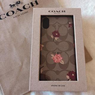 COACH - 未開封 新作 人気 花柄 コーチ COACH iPhone カバー