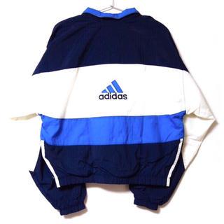 adidas - 最終値下げ!adidas アディダス ナイロンジャケット 刺繍 ロゴドン 90s