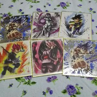 ドラゴンボール(ドラゴンボール)のドラゴンボール色紙。1枚300円(キャラクターグッズ)