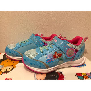 アリエル(アリエル)の新品 未使用 スニーカー ディズニープリンセス プリンセス アリエル 靴 18(スニーカー)