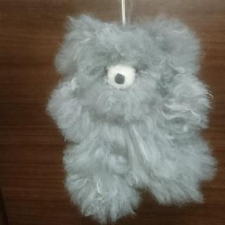 ペルー アルパカの毛100% テディベア(ぬいぐるみ)