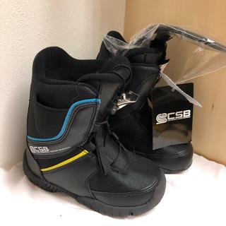 値下げ【新品】CSB スノーボード ブーツ キッズ ジュニア 18 19(ブーツ)