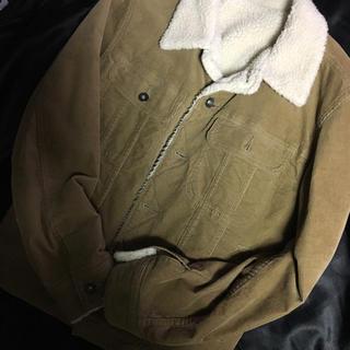 ジーユー(GU)のGU ボアジャケット メンズ Sサイズ (Gジャン/デニムジャケット)