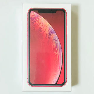 Apple - iPhone XR 128GB Red SIMフリー 新品未開封