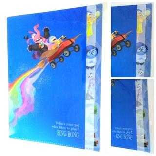 ディズニー(Disney)のインサイドヘッド 5ポケット クリアファイル(クリアファイル)