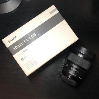 シグマ(SIGMA)のSIGMA 50mm F1.4 DG Artレンズ Canon EFマウント用(レンズ(単焦点))