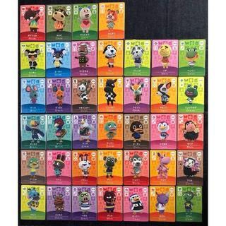 ニンテンドー3DS(ニンテンドー3DS)のどうぶつの森 amiibo カード 大量 39枚 セット アミーボ 021(その他)