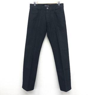 ザラ(ZARA)のZARA ザラ メンズ パンツ 黒 ブラック 31 M(スラックス)