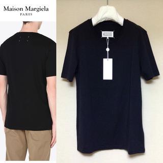 マルタンマルジェラ(Maison Martin Margiela)の新品■46■黒■マルジェラ■18aw■コットンジャージTシャツ■5182(Tシャツ/カットソー(半袖/袖なし))