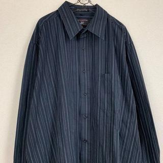 black stripe shirt(シャツ)