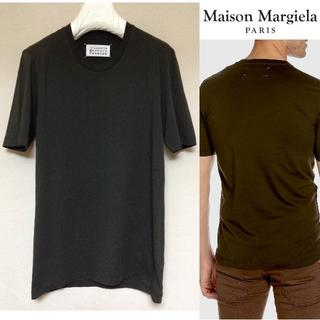 マルタンマルジェラ(Maison Martin Margiela)の新品■46■マルジェラ■定番■無地Tシャツ■緑■オリーブ■5032(Tシャツ/カットソー(半袖/袖なし))