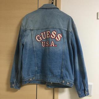 ゲス(GUESS)のGuess ASAP rocky デニムジャケット(Gジャン/デニムジャケット)