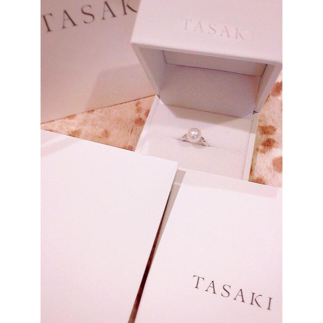 TASAKI(タサキ)の【TASAKI 】田崎真珠 9.2mm あこや真珠 パールリング レディースのアクセサリー(リング(指輪))の商品写真