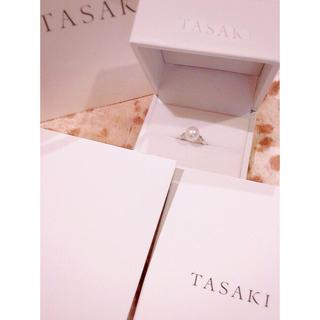 タサキ(TASAKI)の【TASAKI 】田崎真珠 9.2mm あこや真珠 パールリング(リング(指輪))