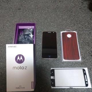 最終出品motolora Moto Z XT1650-05 64GB(スマートフォン本体)