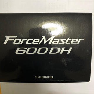 シマノ(SHIMANO)のシマノフォースマスター600DH電動リール(リール)