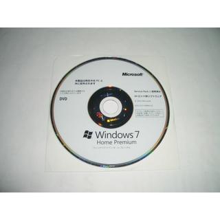 マイクロソフト(Microsoft)のWindows 7 Home SP1 64bit DVD プロダクトキー シール(PCパーツ)