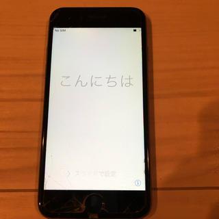 アイフォーン(iPhone)のiPhone6 スペースグレイ 64GB(ジャンク)(スマートフォン本体)