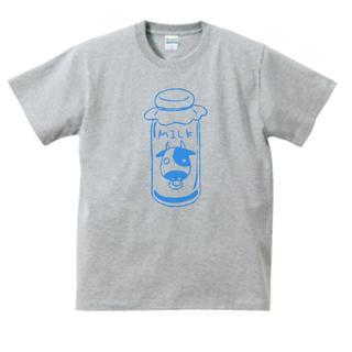 おもしろ Tシャツ グレー 523(Tシャツ/カットソー(半袖/袖なし))