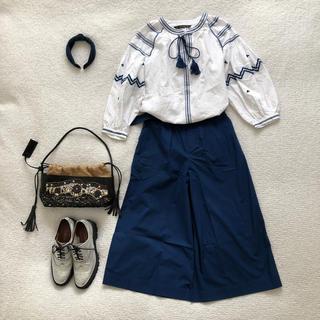 ドレステリア(DRESSTERIOR)のLE TIROIR DRESSTERIOR♡スカーチョほぼ未使用美品(カジュアルパンツ)