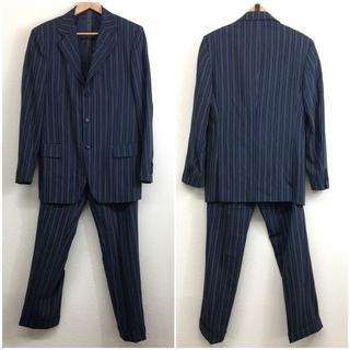 エトロ(ETRO)の美品 ETRO エトロ メンズ セットアップ スーツ 紺 ネイビー 48 M(セットアップ)
