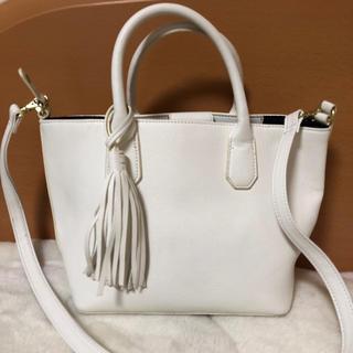 春先にぴったり♡ハンドバッグ ホワイト(ハンドバッグ)